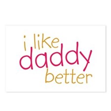 I Like Daddy Better Postcards (Package of 8)