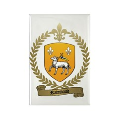 RAIMBAUD Family Crest Rectangle Magnet (100 pack)