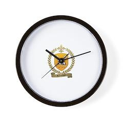 RAIMBAUD Family Crest Wall Clock