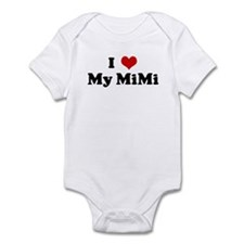 I Love My MiMi Infant Bodysuit