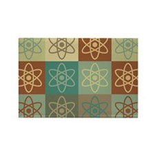 Nuclear Physics Pop Art Rectangle Magnet