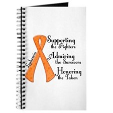 Supporting Admiring Honoring 4 Journal