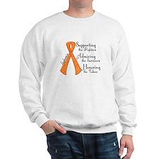 Supporting Admiring Honoring 4 Sweatshirt