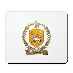 RAIMBEAU Family Crest Mousepad