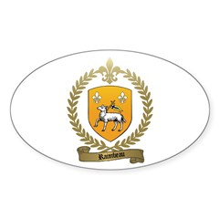 RAIMBEAU Family Crest Oval Decal