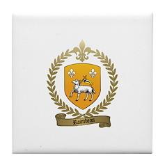 RAIMBEAU Family Crest Tile Coaster
