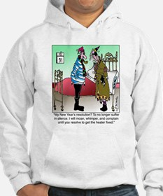 Resolve to no Longer Suffer in Silence Hoodie