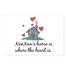 NanNan's Home is Where the Heart is Postcards (Pac