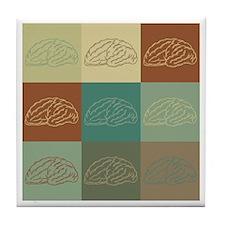 Neurology Pop Art Tile Coaster