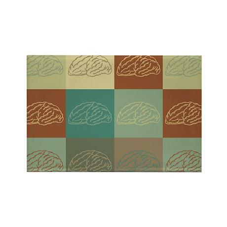 Neurology Pop Art Rectangle Magnet