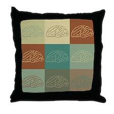 Neurology Pop Art Throw Pillow