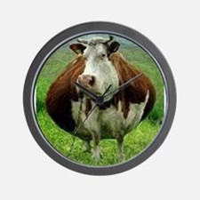 Plump Cow Wall Clock