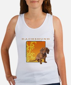 Dachshund Women's Tank Top