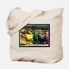 Cute Wildlife art Tote Bag