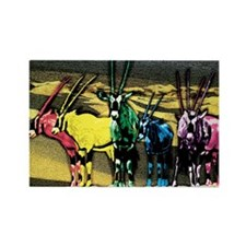 Cute Gazelle Rectangle Magnet