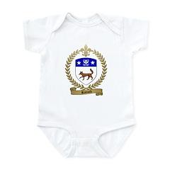 RAINARD Family Crest Infant Creeper