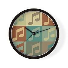 Music Pop Art Wall Clock