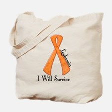 I Will Survive LEUKEMIA Tote Bag