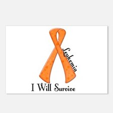 I Will Survive LEUKEMIA Postcards (Package of 8)