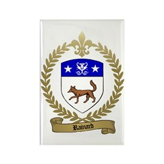 RAINARD Family Crest Rectangle Magnet