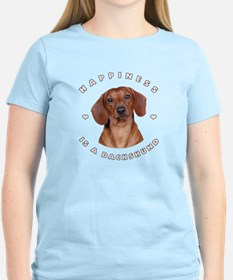 Happiness is a Dachshund! T-Shirt