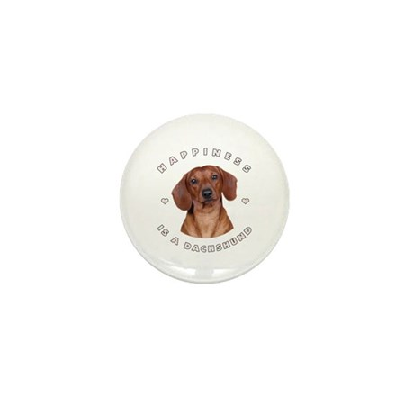 Happiness is a Dachshund! Mini Button (10 pack)