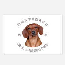 Happiness is a Dachshund! Postcards (Package of 8)