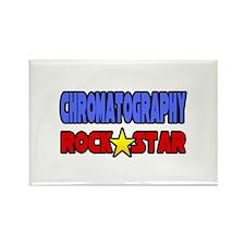 """Chromatography Rock Star"" Rectangle Magnet"