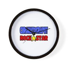 """Chromatography Rock Star"" Wall Clock"