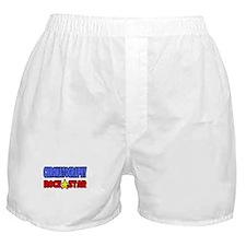 """Chromatography Rock Star"" Boxer Shorts"