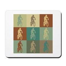 Mountain Biking Pop Art Mousepad