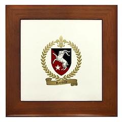 RAINVILLE Family Crest Framed Tile