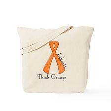 Awareness Ribbon THINK ORANGE Tote Bag