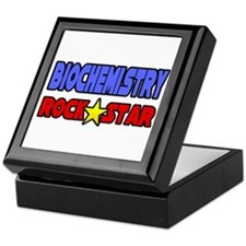 """Biochemistry Rock Star"" Keepsake Box"