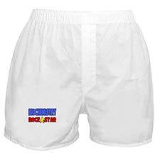 """Biochemistry Rock Star"" Boxer Shorts"