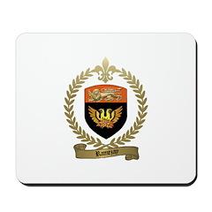 RAMEZAY Family Crest Mousepad