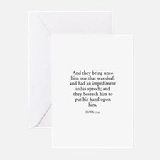MARK  7:32 Greeting Cards (Pk of 10)