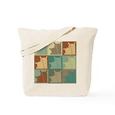 Milling Pop Art Tote Bag