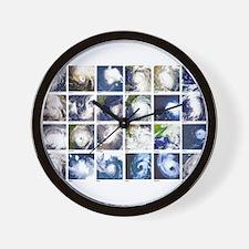 Cute Hurricane katrina Wall Clock