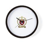 RAU Acadian Crest Wall Clock