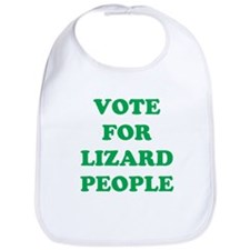VOTE FOR LIZARD PEOPLE Bib