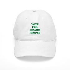 VOTE FOR LIZARD PEOPLE Baseball Cap