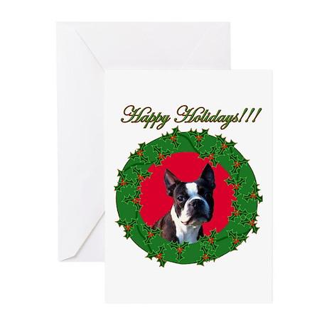 Boston Terrier Greeting Cards (Pk of 20)