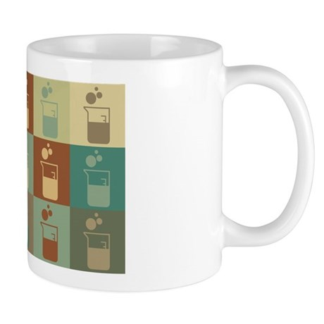 Microbiology Pop Art Mug