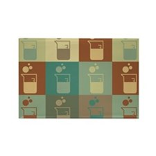 Microbiology Pop Art Rectangle Magnet (10 pack)