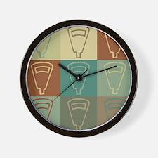 Meter Reading Pop Art Wall Clock