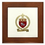 RAUX Family Crest Framed Tile
