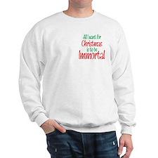 Twilight Immortal Christmas Sweatshirt