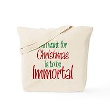 Twilight Immortal Christmas Tote Bag