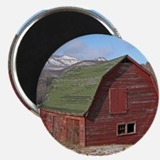 "Adirondack Red Barn 2.25"" Magnet (10 pack)"